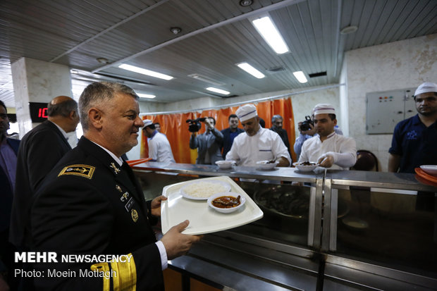 Iranian navy commander visits Gorgan