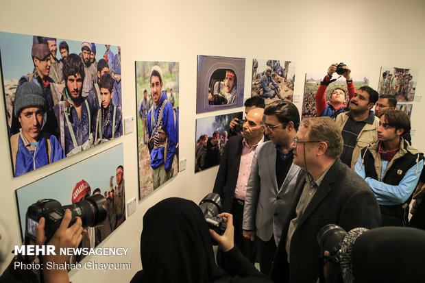 7th Conf. of '10 Days with Iranian Photographers' opens in IAF