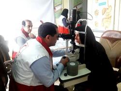 اعزام تیم تخصصی و فوق تخصصی چشم پزشکی به مناطق زلزلهزده