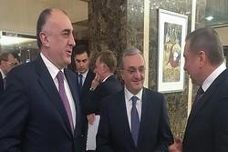 Azerbaycan ve Ermenistan Dışişleri Bakanları Milano'da görüştü