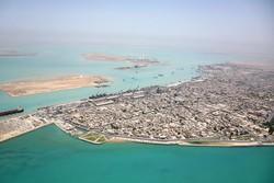 بهرهبرداری ازاسکله ۵۰ هزارتنی جزیره نگین بوشهر باحضور رئیسجمهور