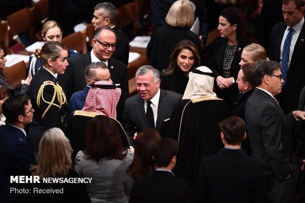 جنازة جورج بوش الأب