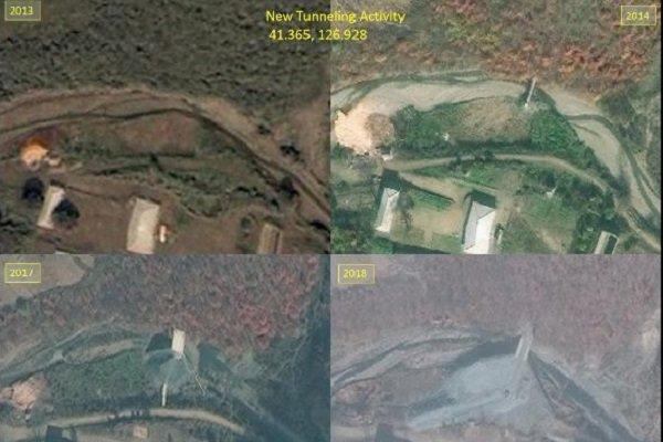 انتشار تصاویری از ساخت و توسعه پایگاه موشکی مخفی کره شمالی