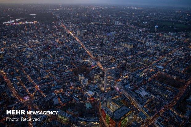 تصاویرهواییاز شبهای لندن