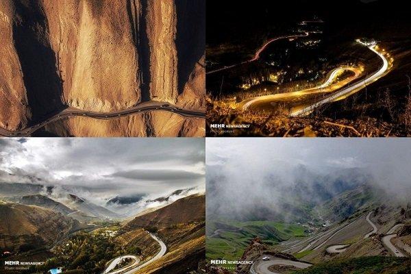 چهارمین جاده زیبای جهان ۸۵ ساله شد/ جاده چالوس پیر نمیشود
