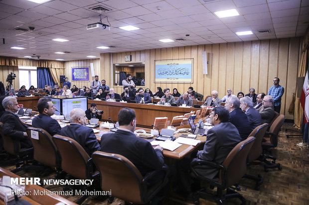نشست خبری رونمایی از بودجه سال 9مؤتمر صحفي للإعلان ميزانية العام المقبل8