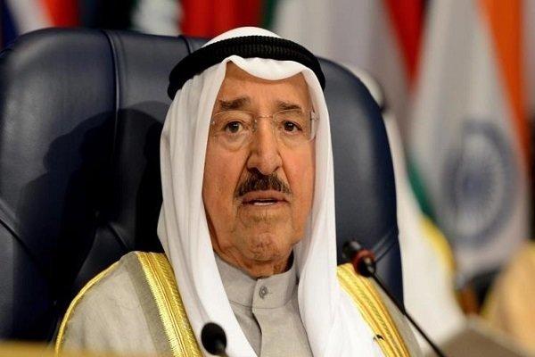 امیرکویت کا صدر روحانی کو تعزیتی پیغام/ چابہار دہشت گردانہ حملے کی مذمت