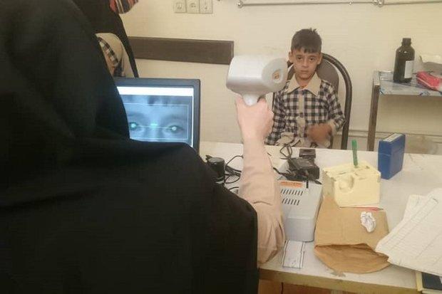 تست بینایی سنجی برای ۸۸۰۰ کودک در تنگستان انجام میشود