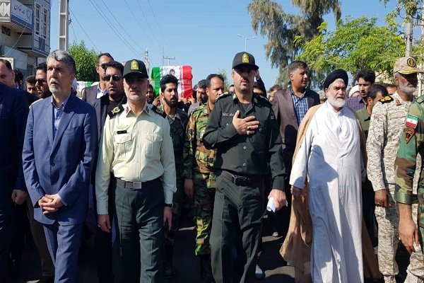 Funeral ceremony held for two martyrs of Chabahar terror attack