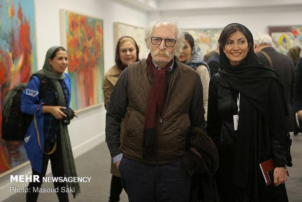 افتتاح نمایشگاه گروهی هنرمندان معاصر ایران