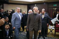 لاریجانی سے ترکی اور افغانستان کے اسپیکروں کی ملاقات