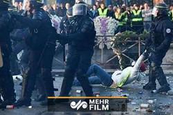Fransa'da Sarı Yelekliler'in protestoları 22. haftasında