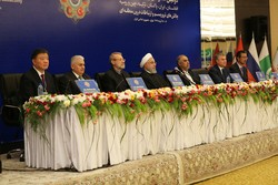 The second conference of parliament speakers from Afghanistan, China, Iran, Pakistan, Russia and Turkey on the challenge of terrorism and inter-regional connectivity kicks off in Tehran, Iran, December 8, 2018.