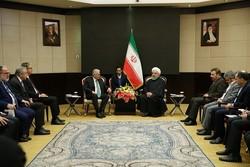 روحاني يشيد بمواقف أردوغان من العقوبات الأمريكية ضد ايران