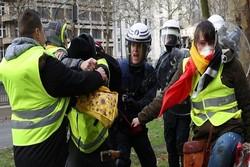 جلیقهزردها در شهرهای هلند هم تظاهرات اعتراضی برپاکردند