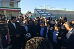 ۳ پروژه ورزشی در رفسنجان افتتاح شد