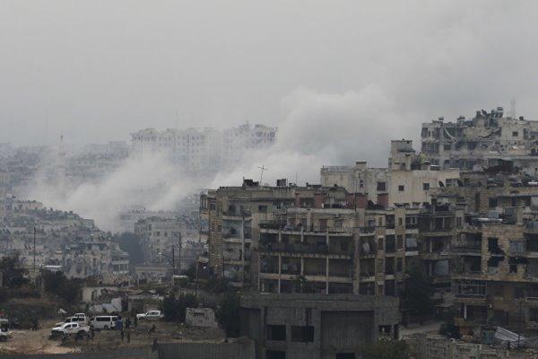 مسکو شواهد محکمی دال برحمله شیمیایی تروریستها به سوریه دردست دارد