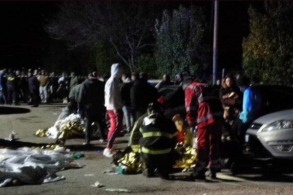 ۶ کشته و ۱۰۰ مجروح حین فرار از یک باشگاه شبانه در ایتالیا