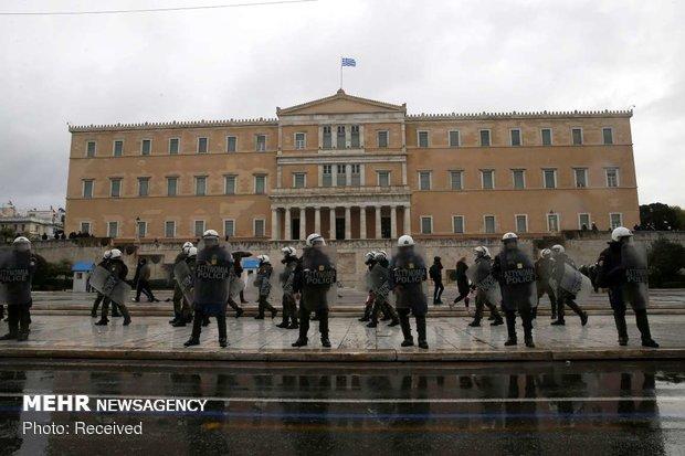 اعتراضات در یونان