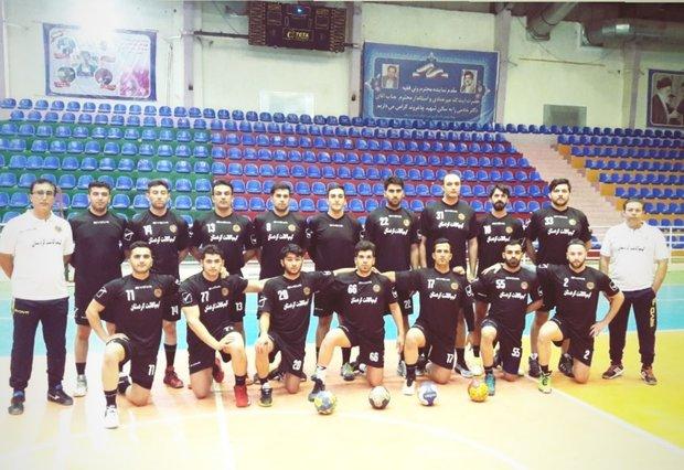 کیمیا کاشت کردستان تیم هیات هندبال خرم آباد را شکست داد