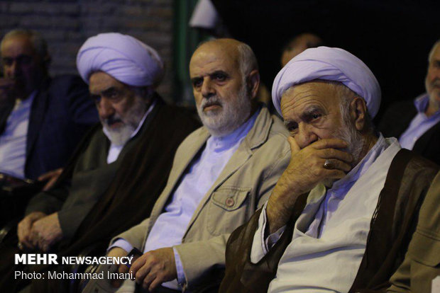 مراسم اولين سالگرد سردار شهيد حاج علي ييلاقي اشرفي