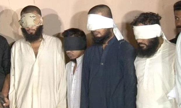 پاکستان میں وہابی دہشت گرد تنظیم جماعت احرار کے 4 دہشت گرد گرفتار