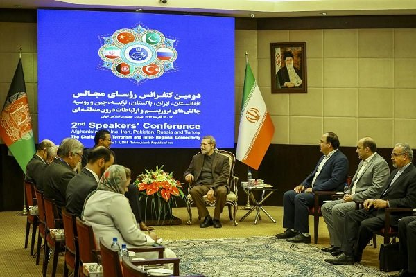 Terrorism and drugs are two blades of a scissors, Larijani says