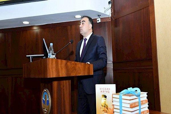 Azerbaycanlı yazar Hüseyn Cavid'in şiir kitabı Kazakça'ya çevrildi