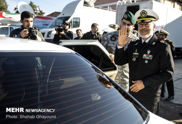 معرض إنجازات القوة البحرية التابعة للجيش الايراني
