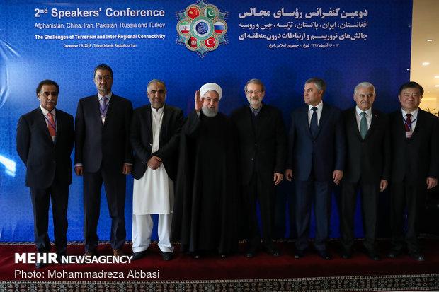 رؤساء برلمان الدول الست يؤكدون رفضهم التدخل الأجنبي في المنطقة
