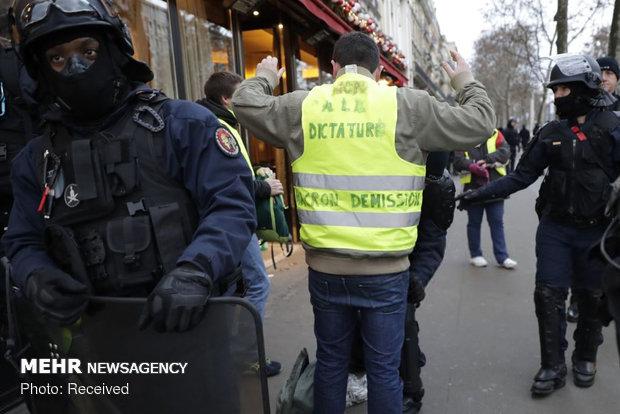 تظاهرات ضد سرمایه داری در فرانسه