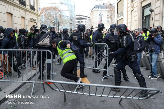 مظاهرات ضد مستثمرين في فرنسا