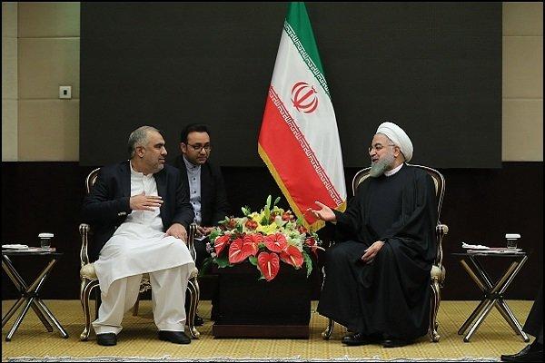 Rouhani regrets misuse of Iran-Pakistan borders by terrorists
