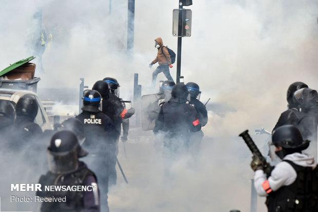 """القوات الفرنسية ستلجأ إلى سلاح جديد لتفريق مظاهرات أصحاب """"السترات الصفراء"""""""