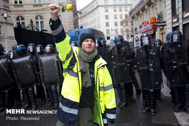 """بدء """"مسيرات الثلاثاء الأسود""""في فرنسا"""