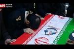 پیکر پاک شهید حادثه تروریستی چابهار در یاسوج تشییع شد