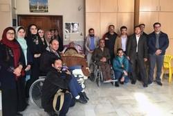 دیدار دانشجویان شاهد و ایثارگر دانشگاه تهران با جانبازان