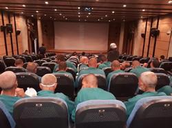 بهبودیافتگان مواد مخدر در شیراز به سینما رفتند