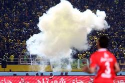 دیدار تیم های فوتبال پرسپولیس و سپاهان
