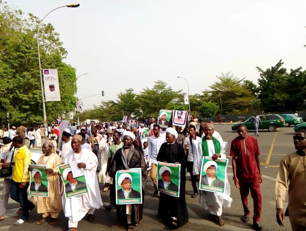 IMN holds peaceful procession to mark massacre in Abuja