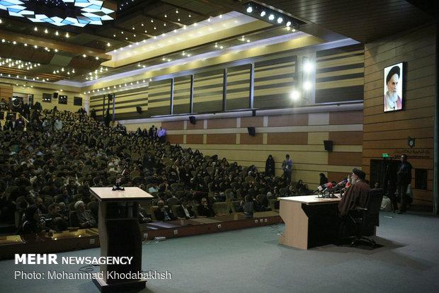 سخنرانی حجت الاسلام رئیسی در دانشگاه شهید بهشتی