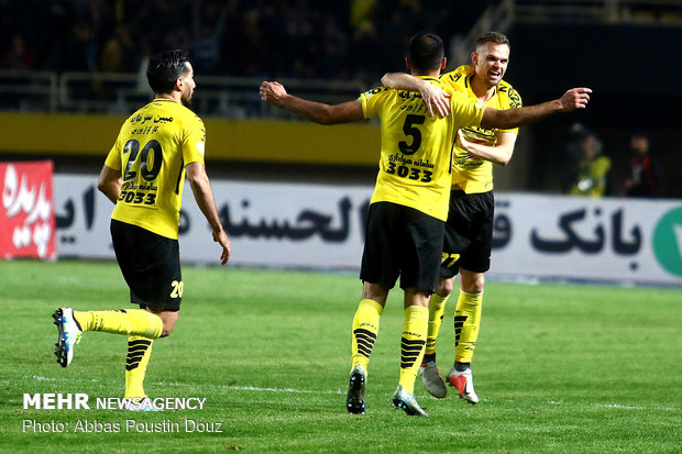 Sepahan vs. Perspolis in IPL