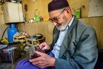 Türkmen takı üretimi atölyesinden kareler