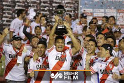 River Plate taraftarı şampiyonluğu böyle kutladı