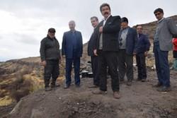 بازدید معاون استاندار آذربایجان شرقی از انتقال آب روستایی مرند
