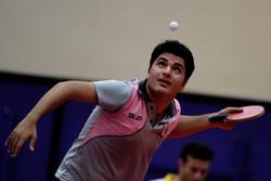 رنکینگ سوم پینگ پنگ باز قزوینی در مسابقات تور ایرانی
