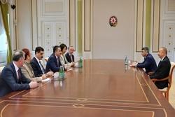 Türk Bakan Pakdemirli İlham Aliyev ile görüştü