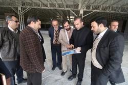 پیشرفت ۷۰ درصدی عملیات اجرایی سایت نمایشگاه بینالمللی همدان