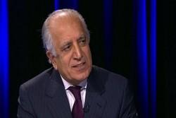 ابراز امیدواری خلیلزاد نسبت به توافق صلح آمریکا-طالبان