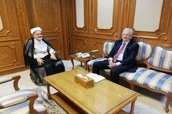 Iran ambassador meets with German counterpart in Muscat